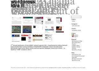 wordpress idra it